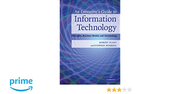 An Executives Guide to Information Technology: Principles, Business Models, and Terminology