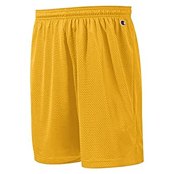Champion Polyester Mesh Short 9', C Gold, S