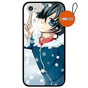 Black Butler Sebastian Anime iPhone 5 / 5s Case & Cover Design Fashion Trend Cool Case Back Cover Silicone 64