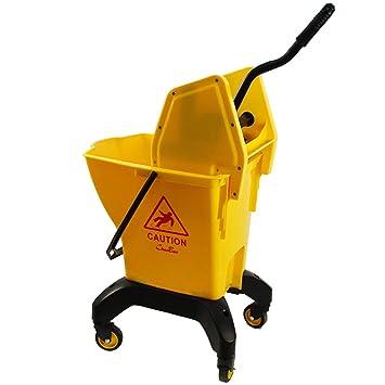 HT trolley Carrito de Limpieza, cubeta de Limpieza del hogar con Filtro de Agua y