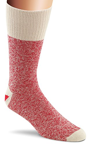 Fox River Original Rockford Red Heel Lightweight Monkey Socks (2 Pack), RED, Large