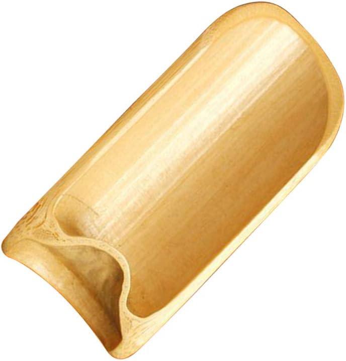 BESTONZON Cuill/ère /À Th/é en Bambou Naturel Pelles en Bois pour Poudre De Matcha Caf/é S/éch/é Fruits Aliments Cuill/ère Kung Fu Chinois Outil Sels De Bain Essentiel