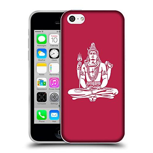 GoGoMobile Coque de Protection TPU Silicone Case pour // Q09530615 Hindou 7 Marron clair // Apple iPhone 5C