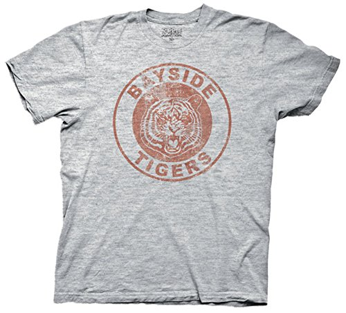 Saved By The Bell Bayside Tigers Mens T-shirt
