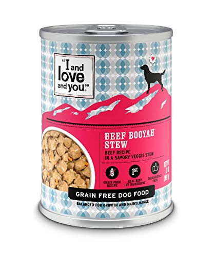 """I and love and you"" Beef Booyah Stew Grain Free Canned Dog Food, 13 Oz (Pack Of 12)"
