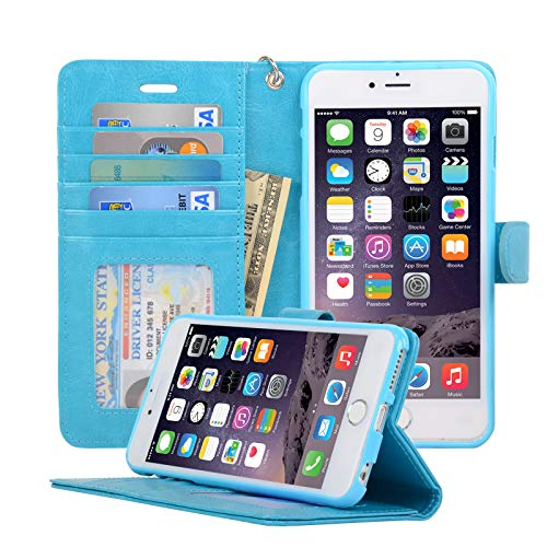 iphone6 case light blue - 4