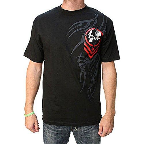 Metal Mulisha Men's Nomadic SS T Shirt Black XL
