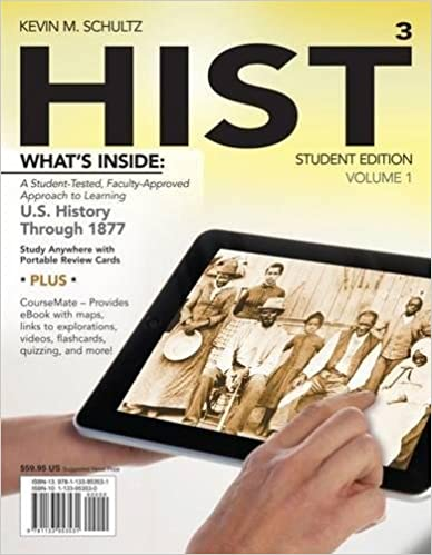 com hist volume us history through  com hist volume 1 us history through 1877 coursemate printed access card new engaging titles from 4ltr press 9781133953531 kevin m