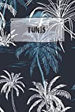 Tunis: Ruled Travel Diary Notebook or Journey  Journal - Lined Trip Pocketbook for Men and Women with Lines