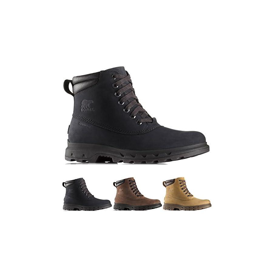 Sorel Men's Portzman Lace Waterproof Ankle Boot