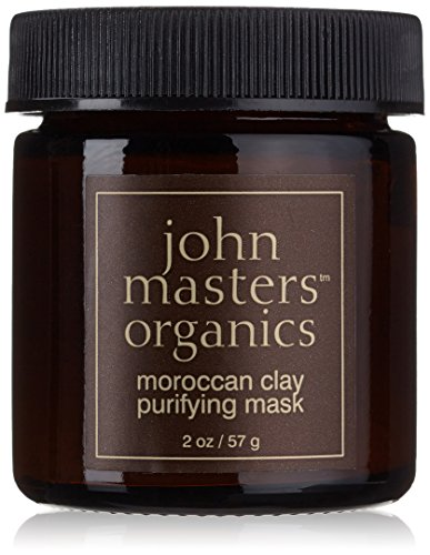Organic Clay Mask by John Masters, Moroccan Purifying Mask, 2 oz