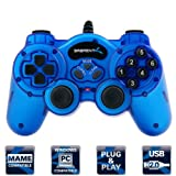 Sabrent Twelve-Button USB 2.0 Game Controller For PC (USB-GAMEPAD)