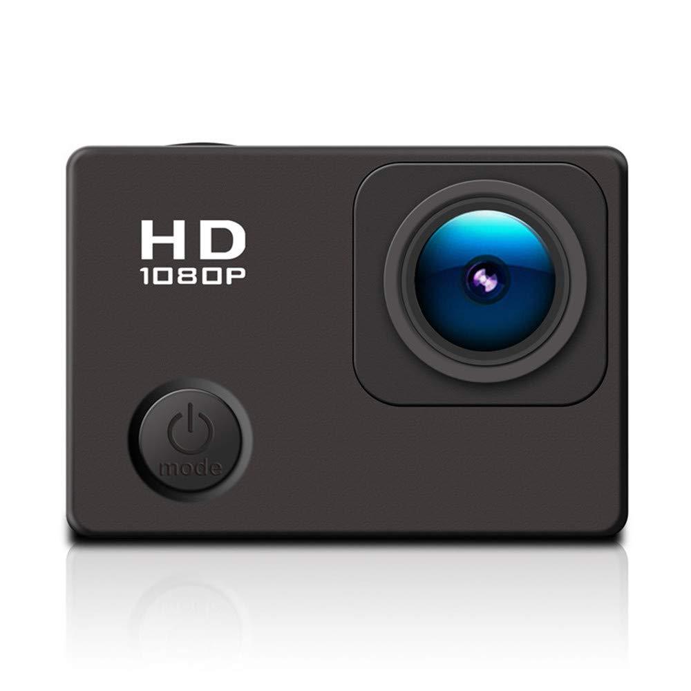Ergou Action-Kamera ultradünne Wasserdichte Sport Kamera 1080p Mini Travel Outdoor-Reit Kamera