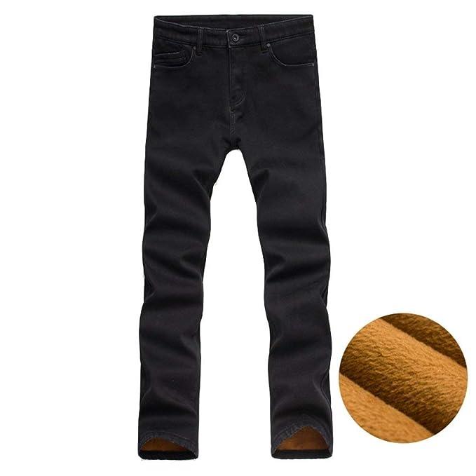 Pantalones Vaqueros De Los Hombres Pantalones De Forro con ...