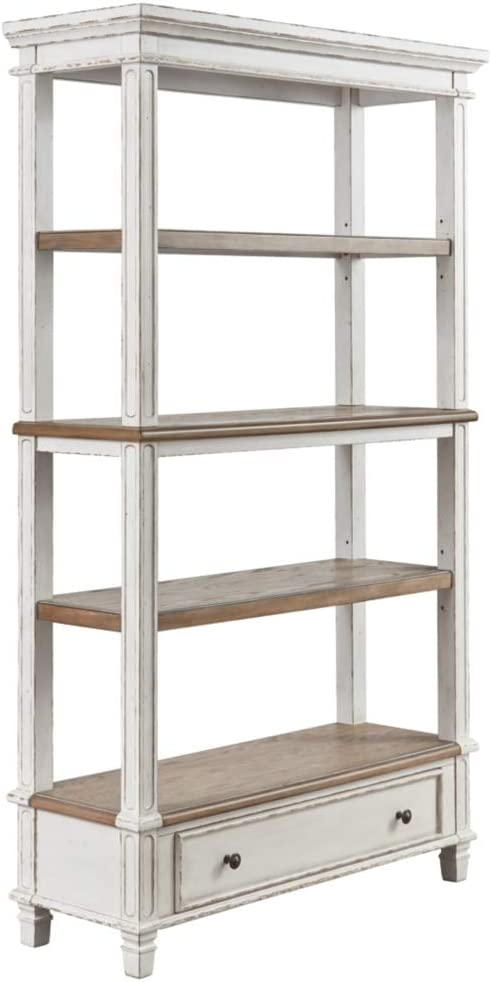 Signature Design by Ashley Realyn Bookcase Two-tone