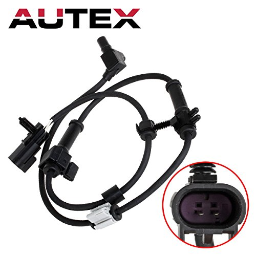 AUTEX ABS Wheel Speed Sensor Front Left/Right 15158254 ALS1337 compatible with 2003-2006 Chevrolet SSR/2002-2009 Chevrolet Trailblazer/02-06 Chevrolet Trailblazer EXT/02-09 GMC Envoy/02-06 GMC Envoy