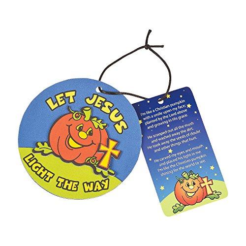 Pumpkin Prayer Ornament with Card Craft Kit (Pumpkin Prayer)