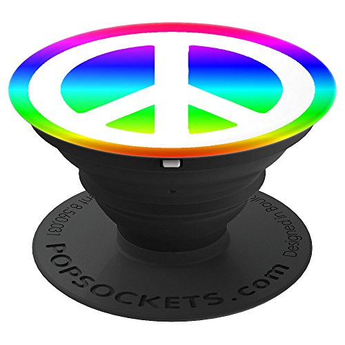 Allies Ladies Watch (Peace Sign PopSocket Kids Women Men Cool Rainbow Gift - PopSockets Grip and Stand for Phones and Tablets)