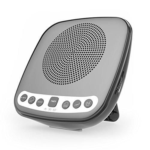 White Noise Sound Machine Sleep Therapy with FM Radio, 6 Rel