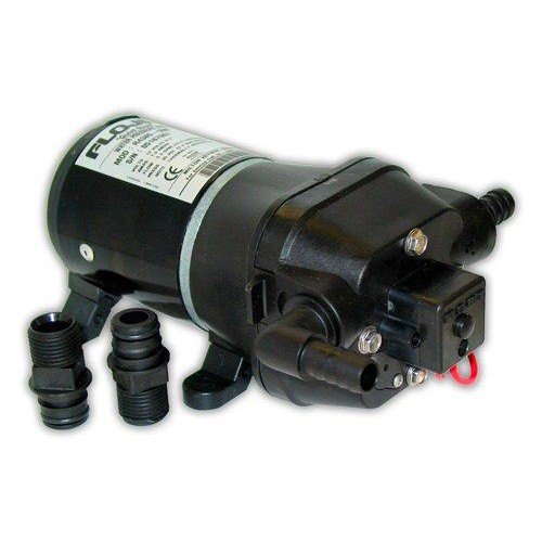 Flojet 04405343A Quad DC Water System Pump, Bypass Included, 24 Volt, 3.3 GPM (Quad Diaphragm Pump)
