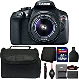 Canon EOS Rebel T6 Digital SLR Camera with 18-55mm IS II Lens and Accessory Kit