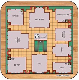 Cluedo juego de imán para nevera – 57 mm x 57 mm – acabado brillante – Classic Junta Juego temáticas de diseño: Amazon.es: Hogar