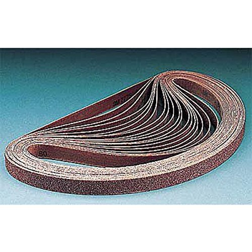3M Cubitron 977F Coated Ceramic Sanding Belt - 80 Grit - 2 in Width x 72 in Length - 84008 [PRICE is per BELT] by 3M