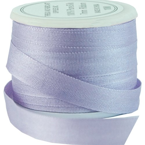 Silk Ribbon No. 024 7mm Pale Lavender - 4 Sizes - 50 Colors