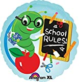 School Rules Worm Balloon - 5 Pieces