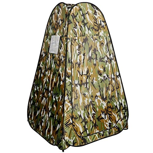 Generic O-8-O-3081-O m Camou Tent Camping mping R Toilet Changing ing Ten Portable Pop UP Toilet Room Camouflage shing B Fishing Bathing NV_1008003081-TYQFUS32 by Generic (Image #2)