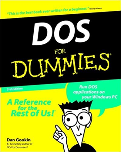DOS For Dummies: Dan Gookin: 0785555503618: Amazon com: Books