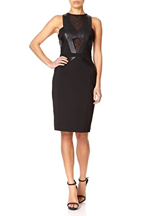 Forever Unique - ATLANTA - Black Fitted Pencil Dress 6