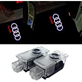 ZTMYZFSL 2 Pcs Car Logo Projection LED Projector Door ghost Shadow Light Welcome Lamp Light