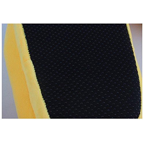LUOEM Chaussons Emoji en coton et suède Pantoufle intérieur Antidérapant Chaussons Hiver 35-45 (Anthomaniac Face)