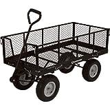 Strongway Jumbo Wagon - 48in.L x 24in.W, 1,400-Lb. Capacity