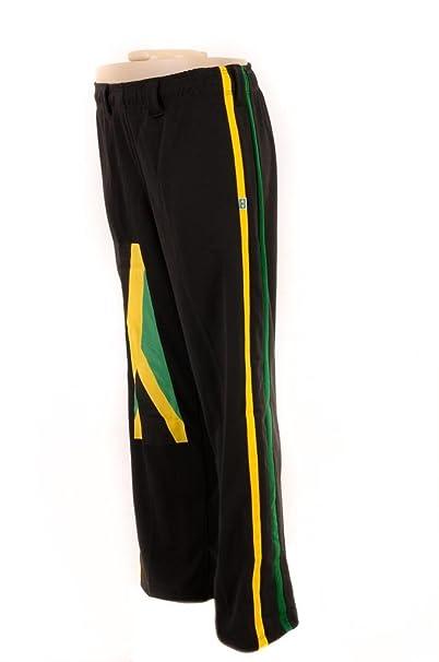 Jamaica, Reggae JL Sport Pantalones Aut/énticos Brasile/ños Capoeira Artes Marciales Hombres