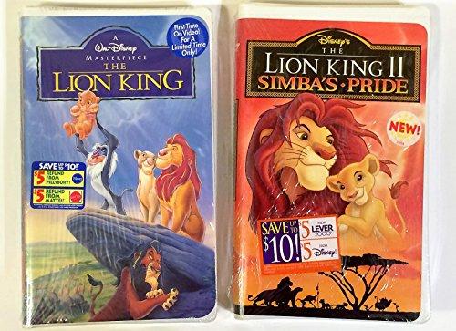 Disney The Lion King I & II [VHS]