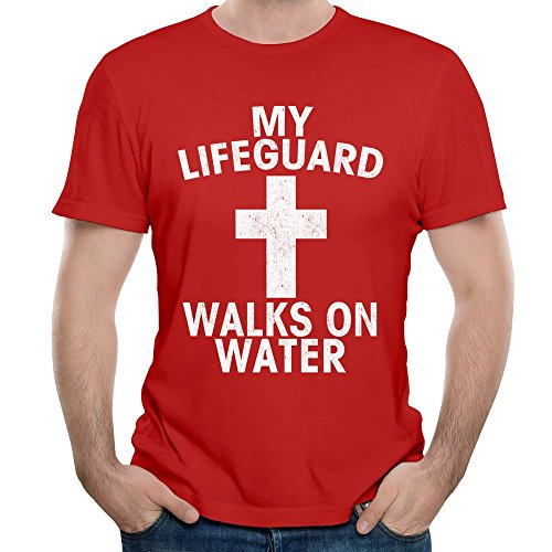 DF-Men-Christian-My-Lifeguard-Walks-On-Water-T-shirt