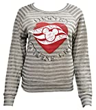Women's Junior Disney Cruise Line Stripe Sweatshirt (M)