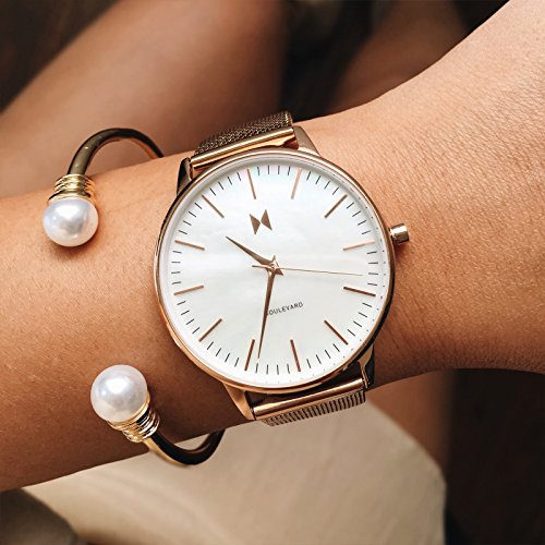 MVMT Boulevard Watches | 38 MM Women's Analog Watch | Sunset