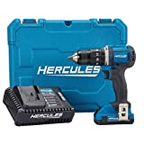 Hercules 20V Lithium Cordless 1/2 In. Compact Hammer Drill/Driver Kit