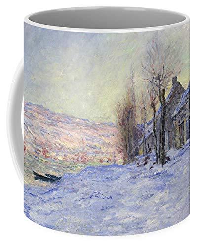 (KPSheng Lavacourt Under Snow 11 Ounces Unique Coffee Mug, Coffee Cup)
