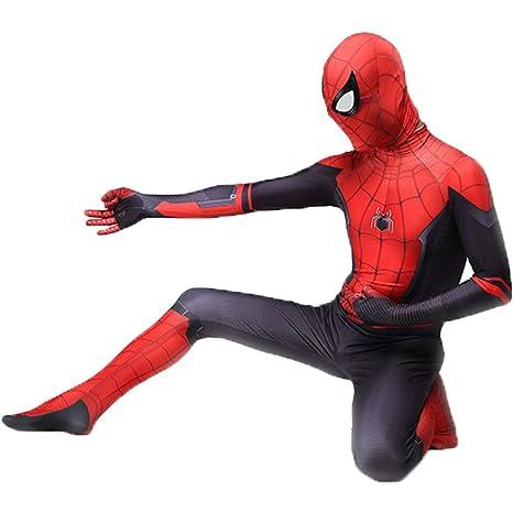 QWEASZER Spider-Man: Lejos de casa, Unisex Lycra Spandex ...