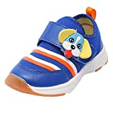 Naladoo Baby Boy Girl Sneaker Animal Cartoon Velcro Breathable Mesh Sport Shoes