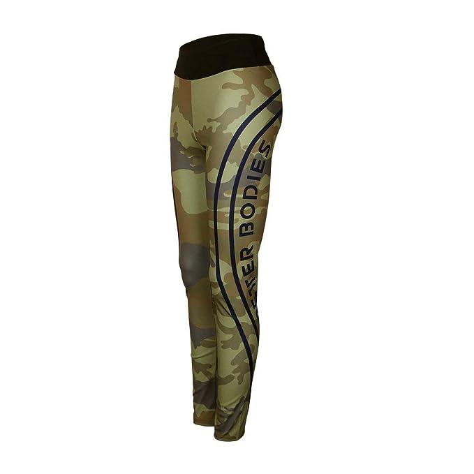 Amazon.com: GWshop - Pantalones deportivos para yoga ...