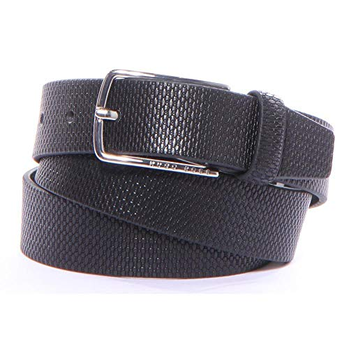 [해외]Hugo Boss 남성용 Chuck-P_Sz30 벨트 100% 소가죽 새 제품 / Hugo Boss Chuck-P_Sz30 Belts 44 Black Men