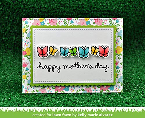 Lawn Fawn - Simply Celebrate Spring Clear Stamp and Die Sets with Wavy Saying Clear Stamps - 3 Items by Lawn Fawn (Image #6)