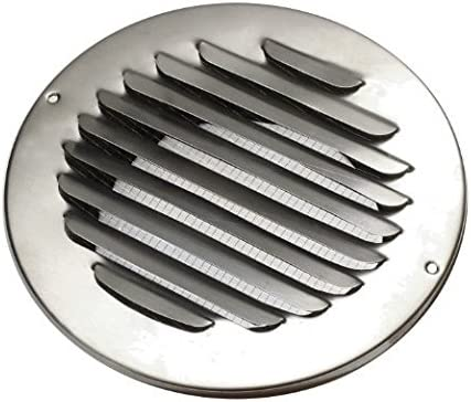 Extractor Acero inoxidable Rejilla de ventilación rejilla de aireación (Aire Campana Láminas rejilla A 100 mm: Amazon.es: Bricolaje y herramientas