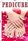 cMyAds.net Pedicure VII Perforated 70/30 See Though Window Poster Sign Salon Nails Vinyl Hand Hands Foot Feet Advertising Decor Vertical (48'')