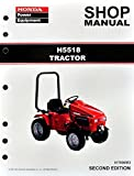 Honda H5518 Lawn Tractor Mower Service Repair Shop Manual